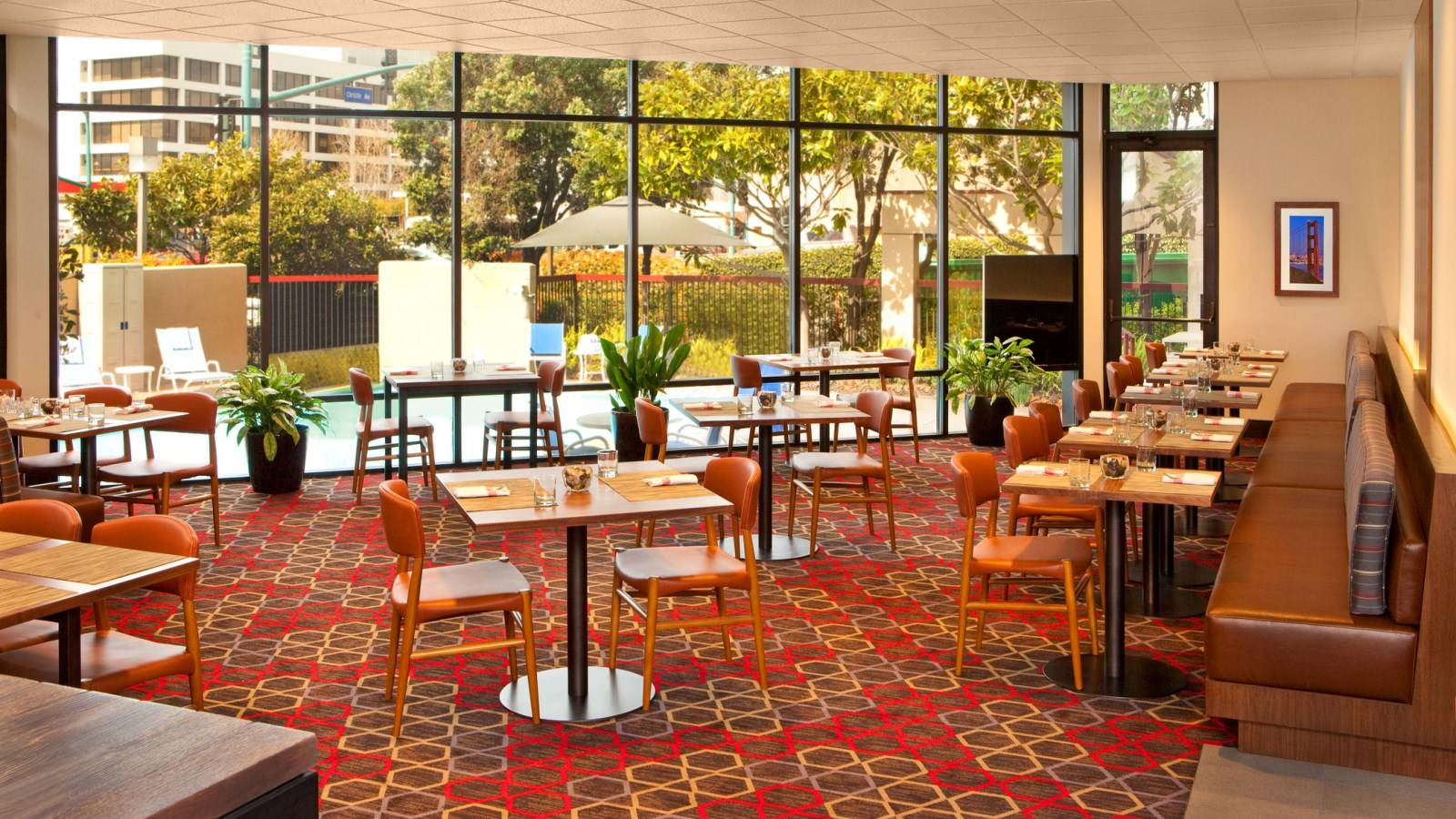 Located Right In The Lobby Of Hotel Café Four Is A Convenient Bay Area Restaurant Option For Casual Dining Experience During Your Stay At Points